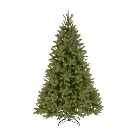 douglas fir artificial tree national tree company 7 5 ft unlit feel real downswept