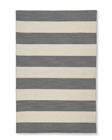 gray dhurrie rug wide stripe dhurrie rug steeple gray williams sonoma