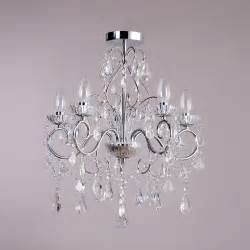 kronleuchter badezimmer vara 5 light bathroom chandelier chrome