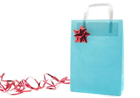 photo of christmas gift bag isolated free christmas images