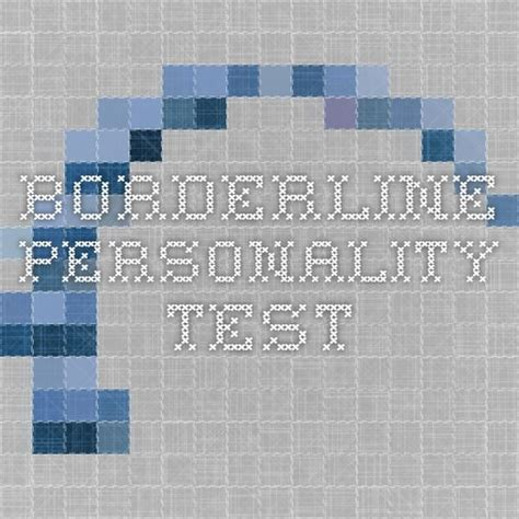 test borderline 168 best images about bpd and other personality disorders