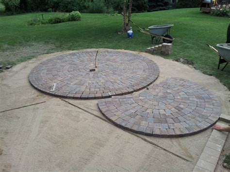 Circular Patio Pavers Circular Paver Patio Modern Patio Minneapolis By Barrett Lawn Care