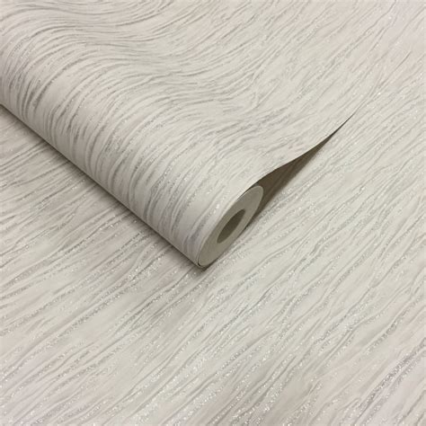 glitter wallpaper ivory crushed silk plain glitter wallpaper ivory silver