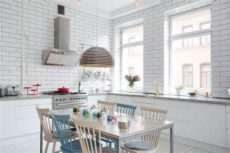 white in swedish белый кирпич в интерьере особенности фото
