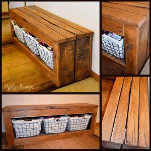 diy entryway storage bench the best 30 diy entryway bench projects page 2 of 3