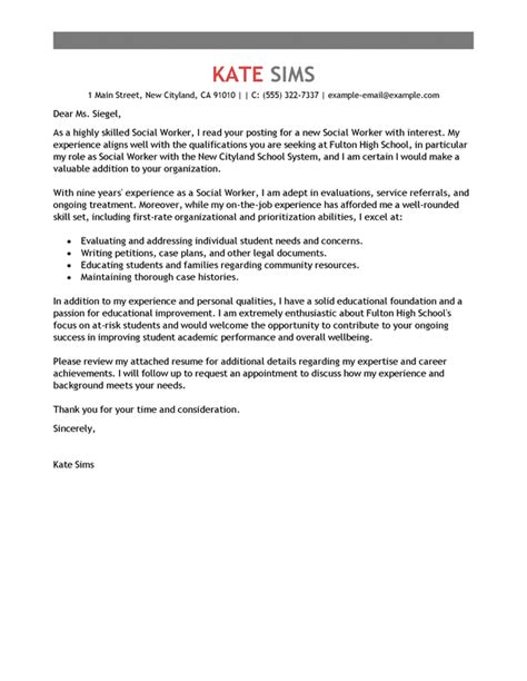 renal social worker cover letter awesome school social worker cover