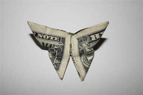 Butterfly Origami Money - free photo money butterfly origami dollar free image