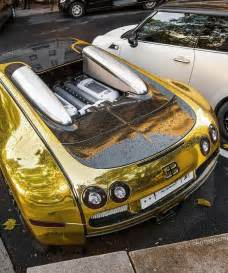 Bugatti Beaverton Gold Bugatti Veyron Because Just A Plain Bugatti Veyron