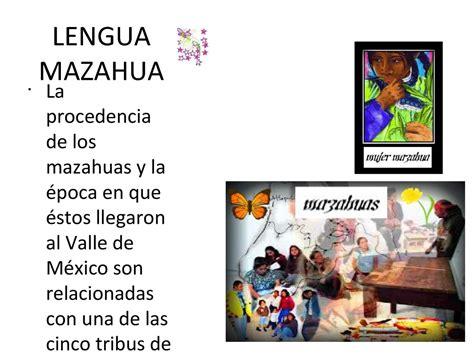 la lengua de los calam 233 o lengua mazahua