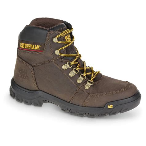 rugged work cat rugged work boots sportsman s guide