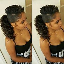 pics of black clip on hairstyle 120g 2016 new african american deep curly ponytail