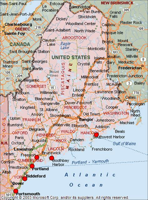 city map of maine girlshopes