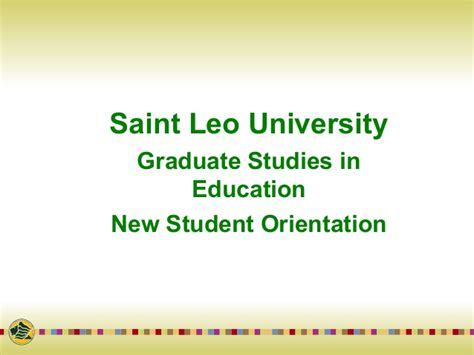 Orientation Programme For Mba Students Ppt by New Student Orientation Slu Template 12 Fa1 Orientation