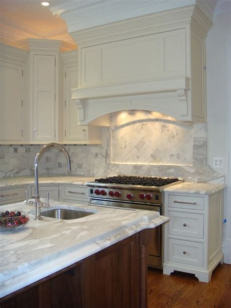 kitchen cabinet hoods classic with wood hood