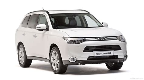 mitsubishi car white white mitsubishi outlander car pictures images
