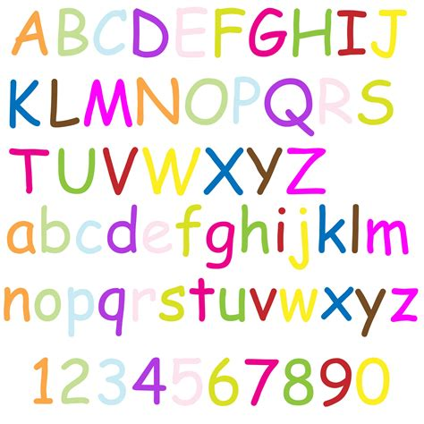 alphabet letters colorful free stock photo domain