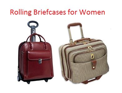 top 10 best rolling briefcases for women in 2018 | travel