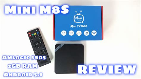 tutorial android tv box mini m8s tv box review amlogic s905 2gb ram android 5