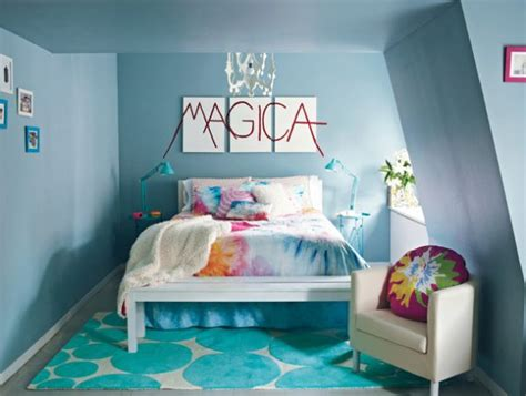 colorful teenage girl bedroom ideas tie dye teen rooms design dazzle