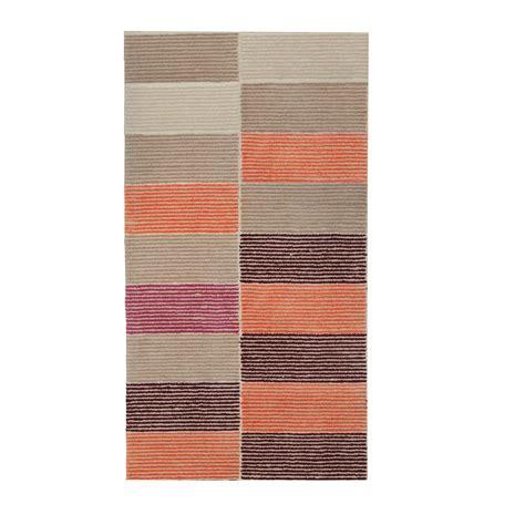 esprit home tappeti esprit home tappeto fida arancione 70 x 140 cm