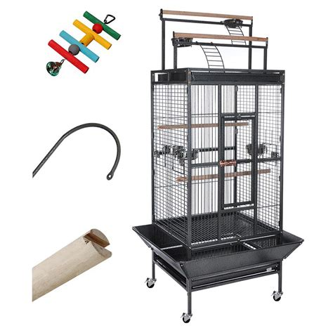 89 quot parrot bird finch cage cockatiel parakeet ladder iron
