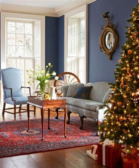 colonial christmas decor ideas early american