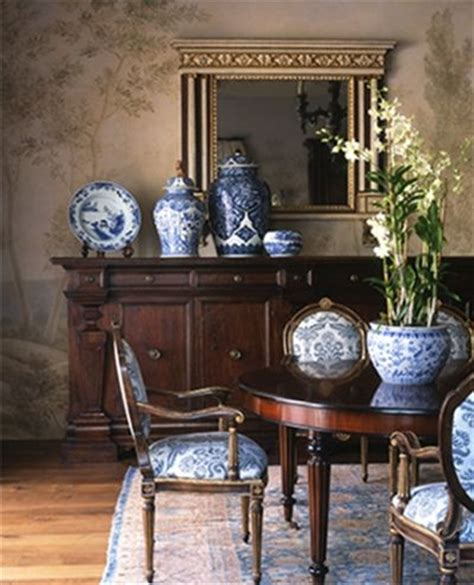 blue and white home decor traditional delft blue dining room decorating