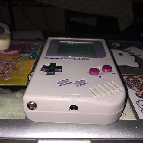 gameboy micro led mod nintendo gameboy dmg 01 grey pro sound mod white led