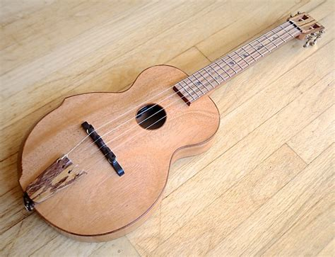 Handmade Acoustic Guitars Usa - 2016 patriarch guitars the bard archtop ukulele handmade