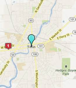 Tiffin Ohio Map by Nearby Attractions Tiffin University Heidelberg University