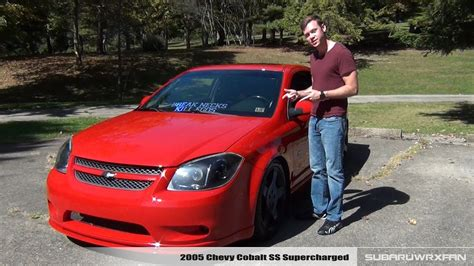 review  chevy cobalt ss supercharged youtube