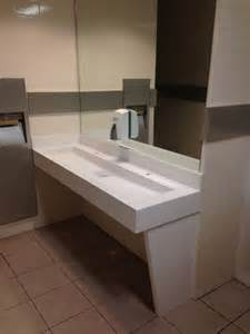 Vanity Top With Trough Sink Corian Trough Sink