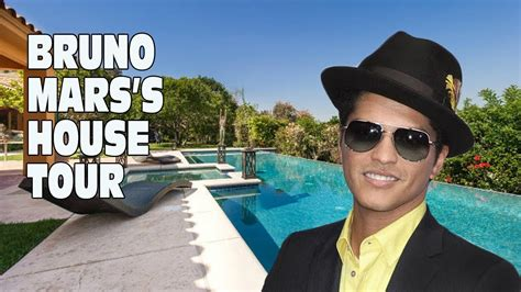 bruno mars house bruno mars s house tour youtube