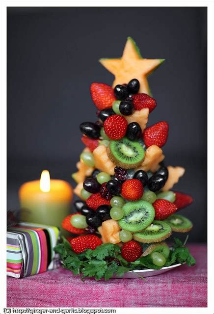 edible fruit christmas trees healthfully ever after