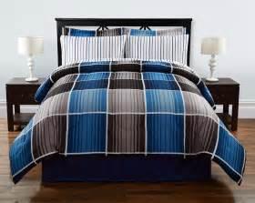 Plaid Flannel Duvet Complete Bed Set Cooper Plaid