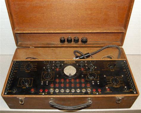 supreme radio supreme instruments radio diagnometers