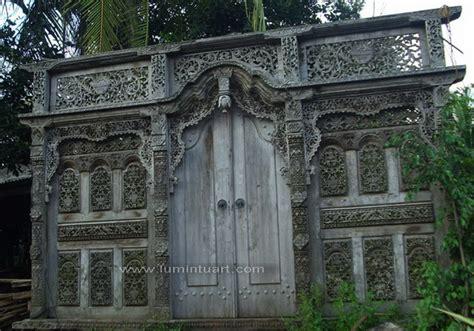 Kusen Pintu Model Gebyog Antik Jati Jepara gebyok pintu kusen rumah ukiran 3 dimensi kayu jati jepara
