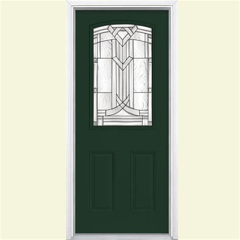 36 front door masonite 36 in x 80 in oakville lite painted smooth