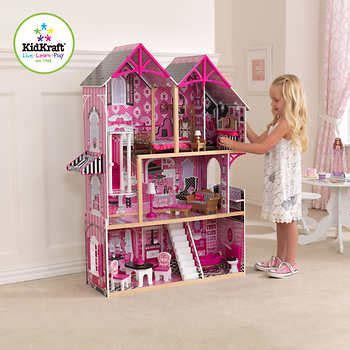 Mainan Kitchen Set Frozen With Doll kidkraft 174 couture dollhouse