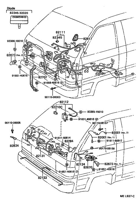 toyota liteace wiring diagram 29 wiring diagram images