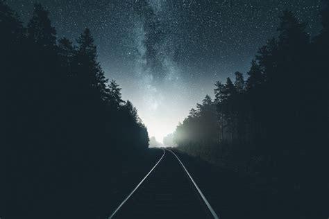 railroad hd wallpaper background image  id