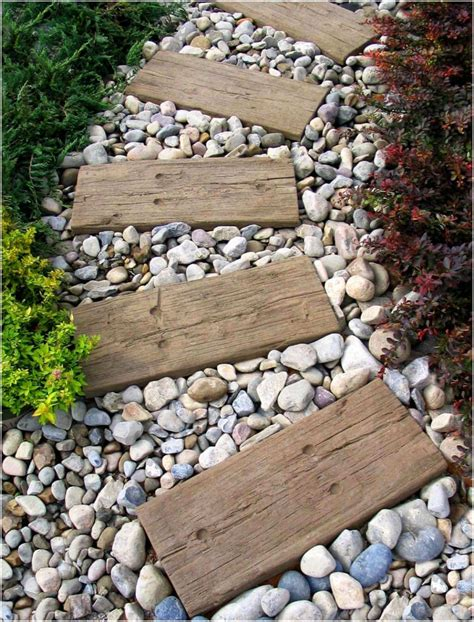 10 cool garden walkway and stepping combos