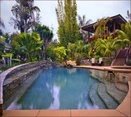 Small Backyard With Pool Landscaping Ideas Small Backyard Pool Landscaping In Arizona Home Design Ideas