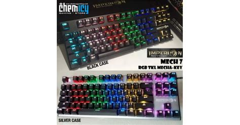 Grosir Imperion Mech 7 Rgb Tkl Mechanical Keyboard imperion mech 7 tkl rgb
