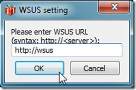 apply automatic updates to computers offline with wsus