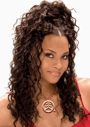 model model glance soft deep curl hair weave 14""