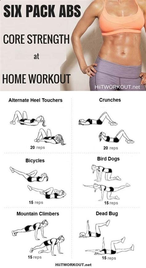best exercises for abs get six pack abs in 6 simple best ab exercises and ab workouts