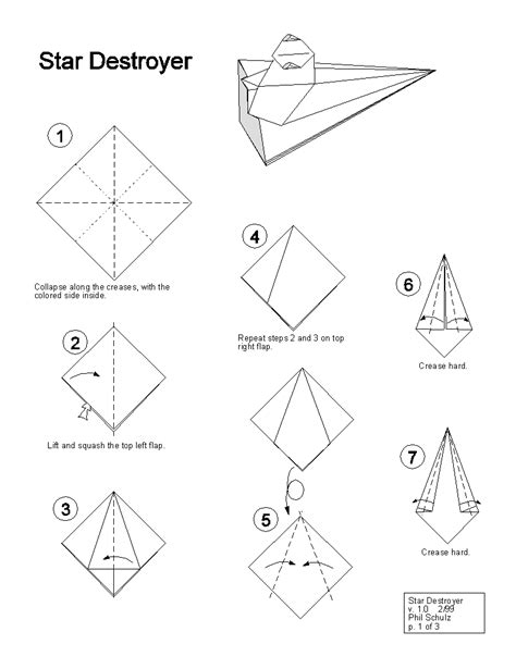 How To Make An Origami Wars - wars origami