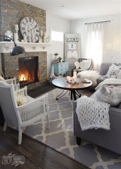 how to create a cozy hygge living room this winter home