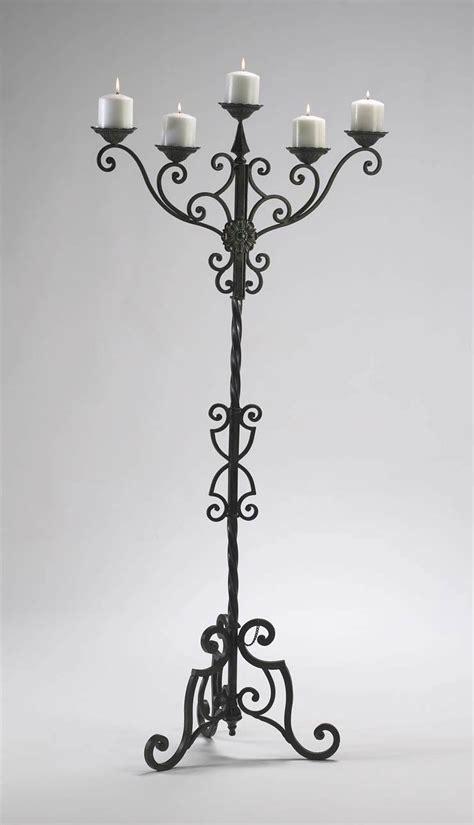 stand kerzenleuchter iron candle holders light fixtures design ideas